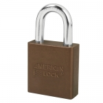 Master Lock A1205KAMKWR1BRN, American Lock 1205 Aluminum Padlock