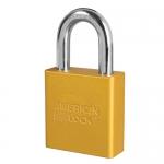 Master Lock A1205KAMKWR7YLW, American Lock 1205 Aluminum Padlock