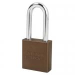 Master Lock A1206KAMKWR2BRN, American Lock 1206 Aluminum Padlock