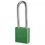 Master Lock A1207KAMKGRN, American Lock 1207 Series Aluminum Padlock