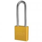 Master Lock A1207KAMKYLW, American Lock 1207 Series Aluminum Padlock