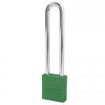 Master Lock A1209KAMKGRN, American Lock 1209 Series Aluminum Padlock