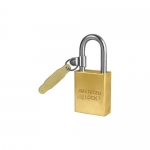 Master Lock A41KATAG, Non-Rekeyable Padlock – Solid Brass