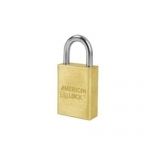 Master Lock A6530MK, No. A6530 Rekeyable Padlock – Solid Brass