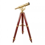 Barska AA10616, Anchormaster Classic Brass Spyscope, 15-45x/50mm