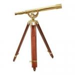 Barska AA10618, Anchormaster Classic Brass Telescope, 18x/50mm