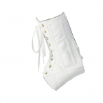 Core Products AKL-6310-MED, White Lace-Up Ankle Support