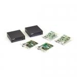 BlackBox AMS9201A, KVM Extender Kit, Fiber, DVI-D Single-Head Video