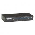 BlackBox AVSW-DVI4X1, 4 x 1 DVI Switch with Audio