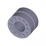 Climax Metal C600E-225, Series C600 Keyless Rigid Coupling