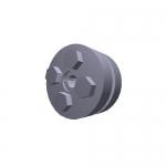 Climax Metal C600M-6, C600M-Series Keyless Rigid Coupling – 6mm x 35mm