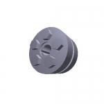 Climax Metal C600M-9, C600M-Series Keyless Rigid Coupling, 11mm x 39mm
