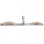 Kraft Tool Company CC816RE, Extruded Magnesium Mini Bull Float & Darby