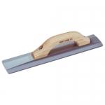 Kraft Tool Company CF014M, Magnesium Hand Float w/ Wood Handle