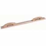 Kraft Tool Company CF042, Hand & Curb Magnesium Darby w/ Wood Handles