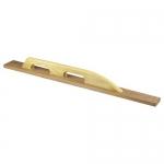 Kraft Tool Company CF237, 36″ Tapered Mahogany Darby w/ Grip Handle