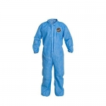 DuPont D14997058, ProShield 10 Coverall, Collar, Serged, Blue, LG