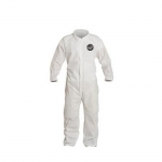 DuPont D14997123, ProShield 10 Coverall, Collar, Serged, LG