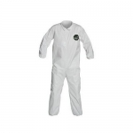 DuPont D15461827, ProShield 50 Coverall, Collar, Serged, LG