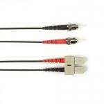 BlackBox FOCMP62-001M-STSC-BK, Duplex Patch Cable