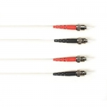 BlackBox FOCMP62-001M-STST-WH, Duplex Patch Cable