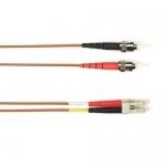BlackBox FOCMR62-002M-STLC-BR, Fiber Patch Cable OM1