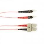 BlackBox FOCMR62-003M-STSC-PK, Fiber Patch Cable OM1