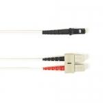 BlackBox FOCMR50-004M-SCMT-WH, Fiber Patch Cable