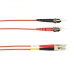 BlackBox FOCMR50-004M-STLC-RD, Fiber Patch Cable, 4m