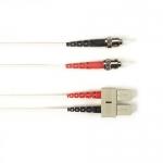 BlackBox FOCMR50-002M-STSC-WH, Fiber Patch Cable