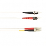 BlackBox FOCMR50-001M-STLC-WH, Fiber Patch Cable