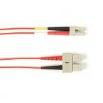 BlackBox FOCMR50-002M-SCLC-RD, Fiber Patch Cable 2m
