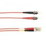 BlackBox FOCMR50-002M-STLC-RD, Fiber Patch Cable 2m
