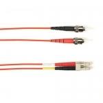 BlackBox FOLZH50-004M-STLC-RD, Fiber Patch Cable Red