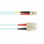 BlackBox FOCMRSM-002M-SCLC-AQ, Fiber Patch Cable 2m