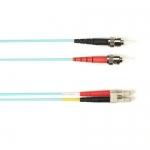 BlackBox FOLZH10-003M-STLC-AQ, Fiber Patch Cable