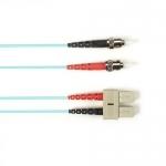 BlackBox FOLZH10-003M-STSC-AQ, Fiber Patch Cable