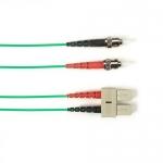 BlackBox FOLZH10-015M-STSC-GN, Fiber Patch Cable