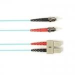 BlackBox FOLZH50-025M-STSC-AQ, Fiber Patch Cable
