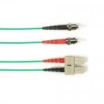 BlackBox FOLZH50-020M-STSC-GN, Fiber Patch Cable