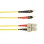 BlackBox FOLZH50-025M-STSC-YL, Fiber Patch Cable OM2
