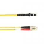 BlackBox FOLZH50-030M-LCMT-YL, Fiber Patch Cable OM2