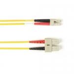 BlackBox FOLZH50-025M-SCLC-YL, Fiber Patch Cable OM2