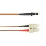 BlackBox FOLZH50-025M-SCMT-BR, Fiber Patch Cable OM2