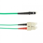 BlackBox FOLZH50-025M-SCMT-GN, Fiber Patch Cable OM2