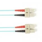 BlackBox FOLZH50-025M-SCSC-AQ, Fiber Patch Cable
