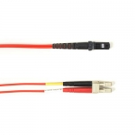 BlackBox FOLZHM4-008M-LCMT-RD, Fiber Patch Cable Red