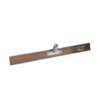 Kraft Tool Company GG593-01, 18″ Double x 1/2″ V-Notch Steel Rake