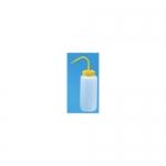 Heathrow Scientific HS120247, Yellow Wide Mouth Wash Bottle