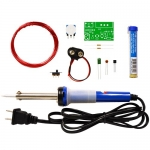 Elenco K-26SLD, Metal Detector Soldering Kit with Iron and Solder